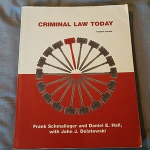 Criminal Justice textbook - Criminal Law Today
